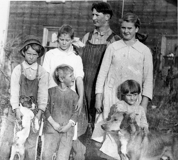 Kizer children, 1924, Indiana